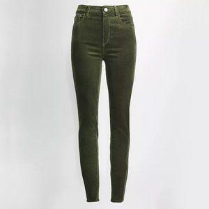 LOFT | High Waist Skinny Corduroy Pants